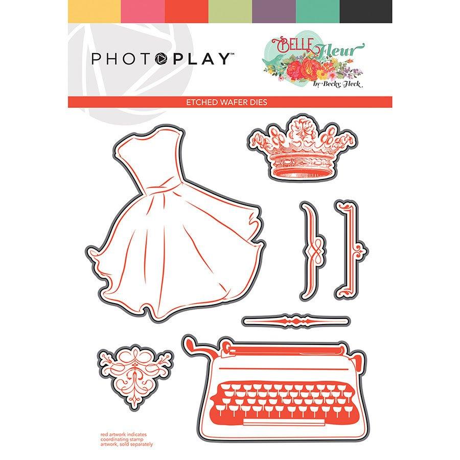 Photo Play - Belle Fleur Etched Dies
