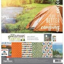 Paper House - The Great Outdoors Camping Crafting Kit