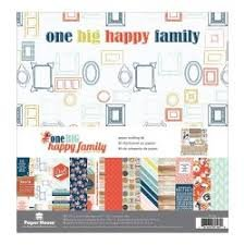 Paper House - One Big Happy Family Crafting Kit