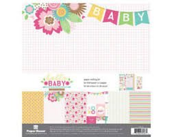 Paper House - Hello Baby Girl Crafting Kit