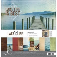 Paper House - Lake Life Crafting Kit