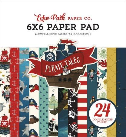 Echo Park - Pirate Tales 6x6 Paper Pad