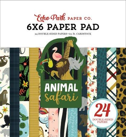 Echo Park - Animal Safari 6x6 Paper Pad