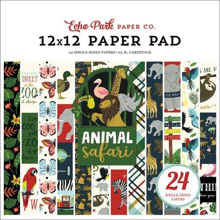 Echo Park - Animal Safari 12x12 Paper Pad
