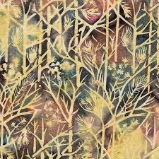 Island Batik - Twigs Buttercup 121801110