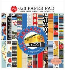 Carta Bella - All Aboard 6x6 Paper Pad