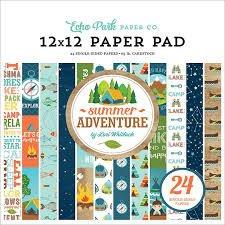 Echo Park - Summer Adventure 12x12 Paper Pad