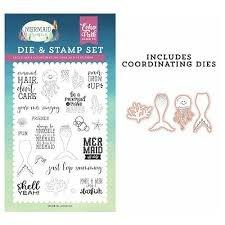 Echo Park - Be A Mermaid Die & Stamp Set