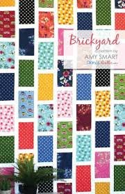 Diary of a Quilter - Brickyard Quilt Pattern