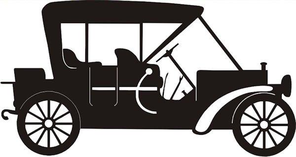 Petticoat Parlor - Vintage Car Laser Die Cut