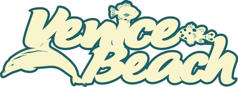 Petticoat Parlor - Venice Beach Title Laser Die Cut