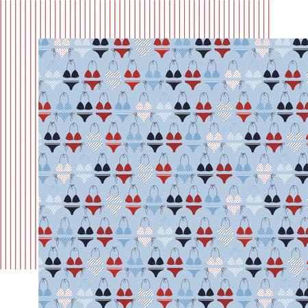 Carta Bella - Deep Blue Sea Seas the Day 12x12 Paper