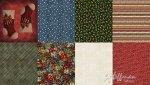 Hoffman Fabrics - Christmas Q4455 161