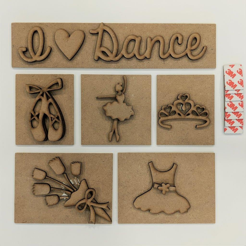 Foundations Decor - Dance Shadow Box Kit