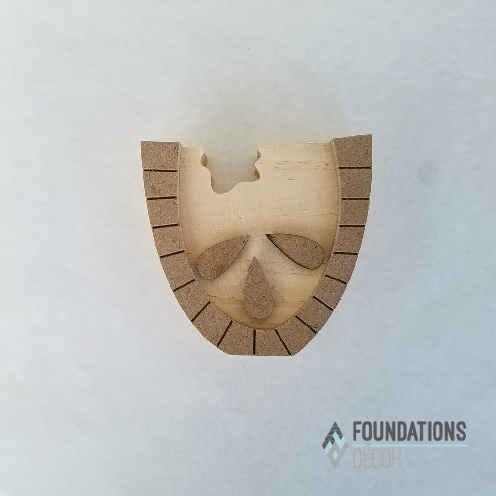Foundations Decor - Picture Holder Watermelon Only