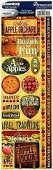 Reminisce - Apple Orchard Die Cut Stickers