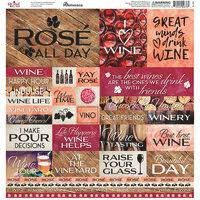 Reminisce - Rose all Day 12x12 Die Cut Stickers