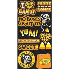 Reminisce - I Love Candy Die Cut Stickers