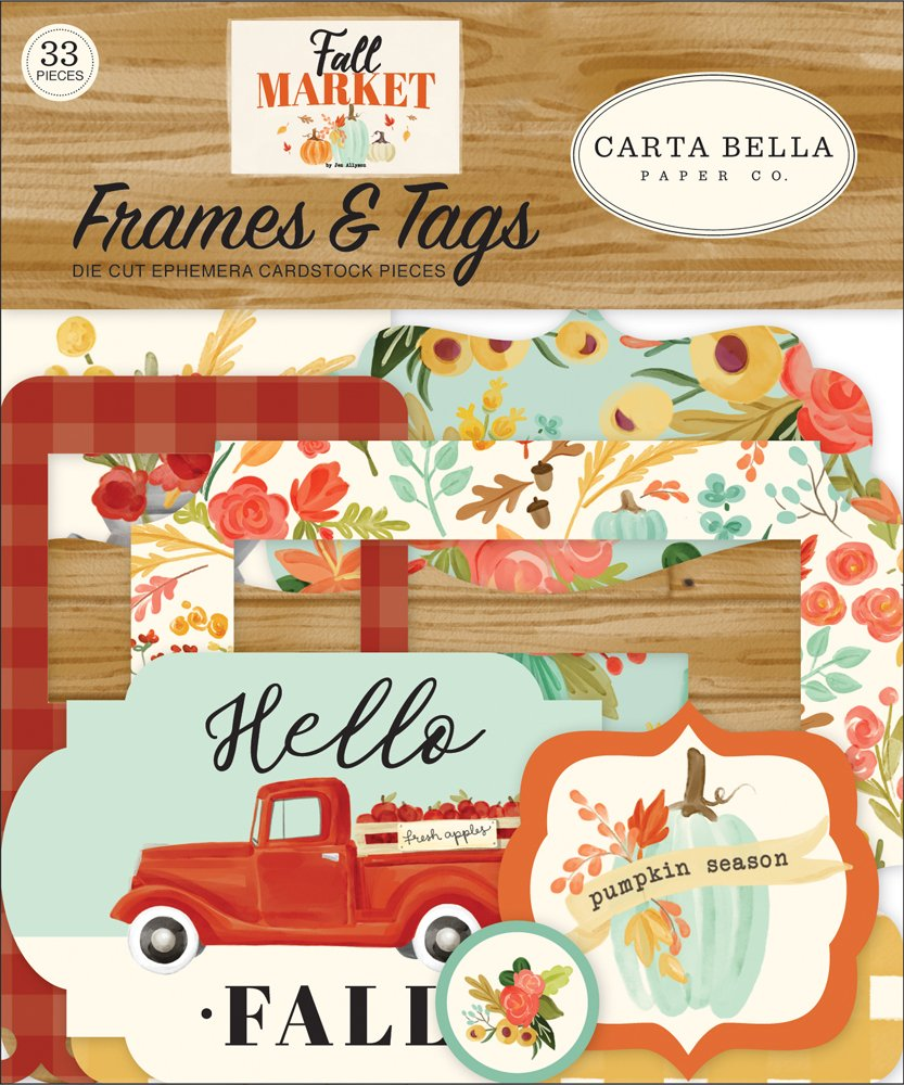 Carta Bella - Fall Market Frames & Tags