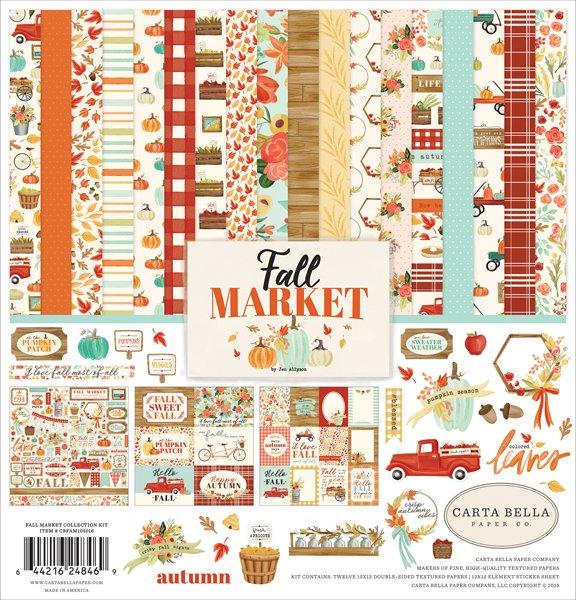 Carta Bella - Fall Market Collection Kit