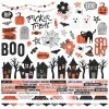 Simple Stories - Happy Haunting Combo Cardstock Stickers