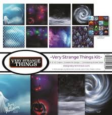 Reminisce - Very Strange Things Collection Kit