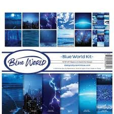 Reminisce - Blue World Collection Kit