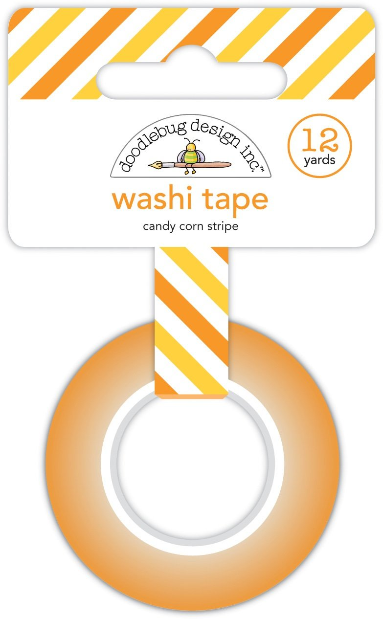 Doodlebug - Candy Corn Stripe Washi Tape