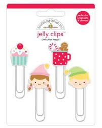 Doodlebug - Christmas Magic Jelly Clips