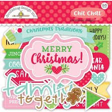 Doodlebug - Christmas Magic Chit Chat
