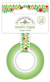 Doodlebug - Bought of Holly Washi Tape