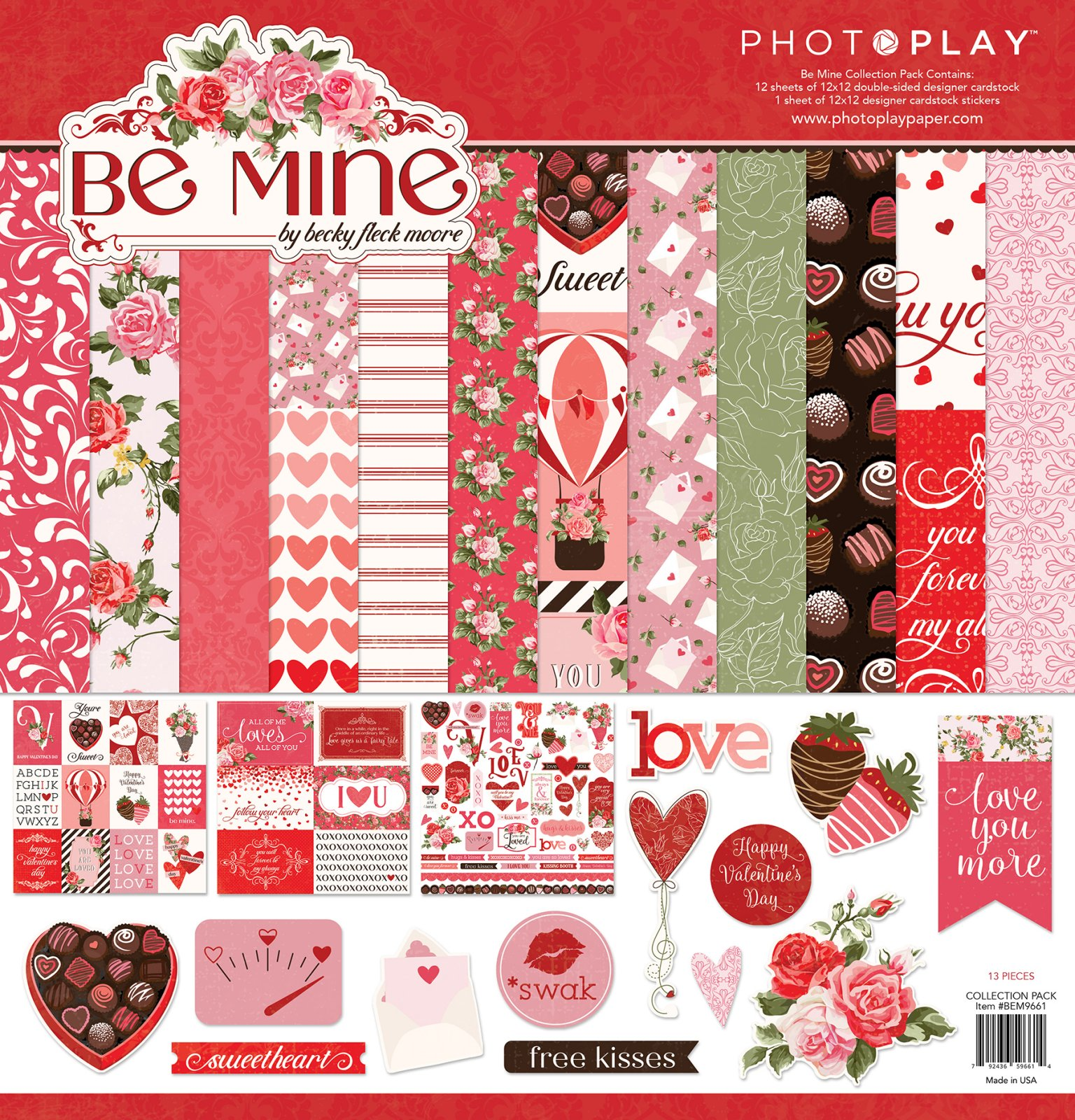 Photo Play-Be Mine Collection Pack 12x12