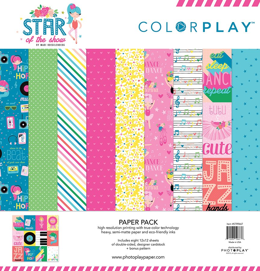 Photo Play-Star of the Show Collection Pack 12x12