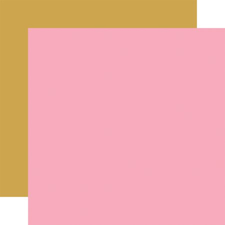 Echo Park - Be My Valentine Pink/Gold 12x12 Paper