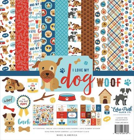 Echo Park - I Love My Dog Collection Kit 12x12