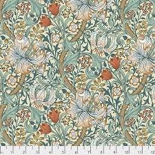 FreeeSpirit Fabrics - Golden Lily Autumn PWWM028.Autumn