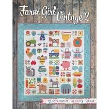 Farm Girl Vintage 2 Quilt Pattern Book