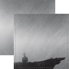 Reminisce - Navy 2 12x12 Paper
