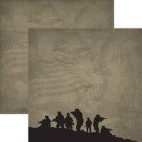 Reminisce - Marines 3 12x12 Paper