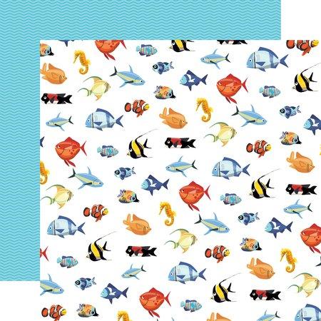 Carta Bella - Fish are Friends Fish March 12x12 Paper