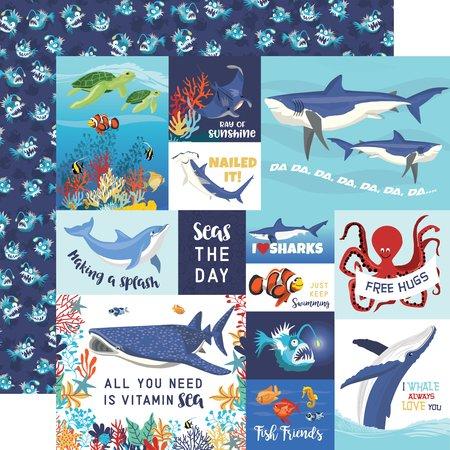 Carta Bella - Fish are Friends Multi Journaling Cards 12x12