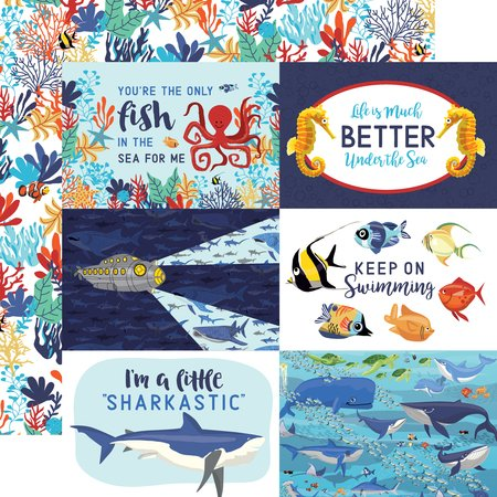Carta Bella - Fish are Friends 4x6 Journaling Cards