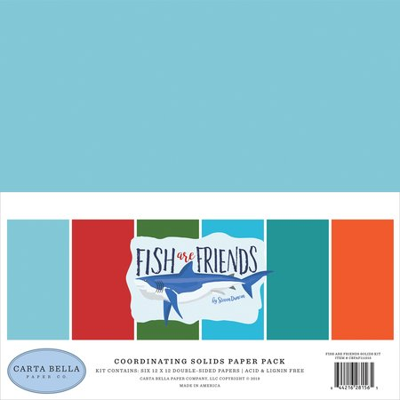 Carta Bella - Fish are Friends Coordinating Solids Pack