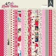 Authentique - Love Notes 12x12 Paper Pad
