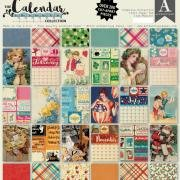 Authentique - The Calendar Collection 12x12 Paper Pad