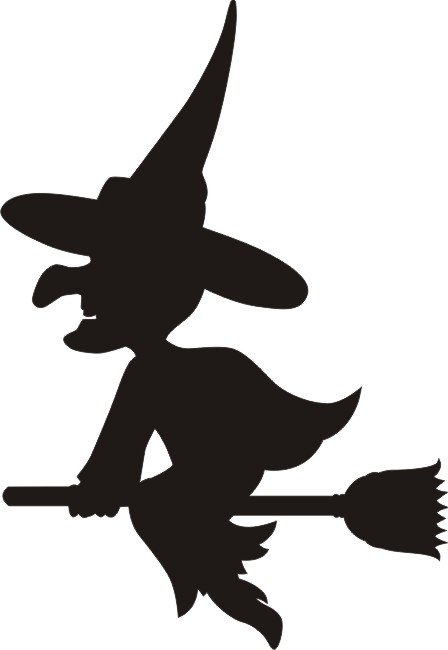 Petticoat Parlor - Witch Small Laser Die Cut