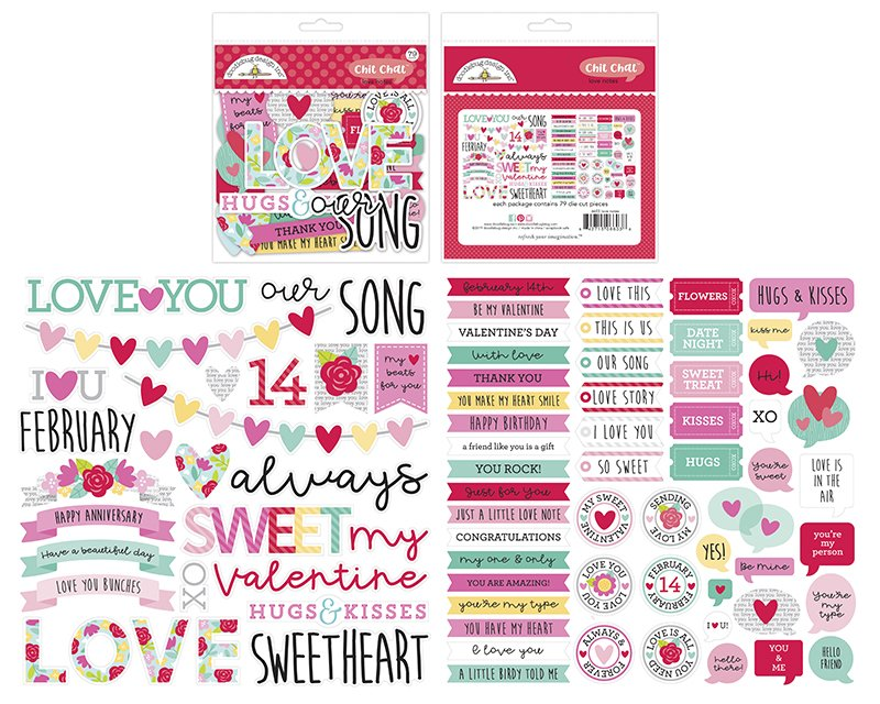 Doodlebug - Love Notes Chit Chat