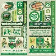 Authentique - Dublin Elements 12x12 Die Cuts