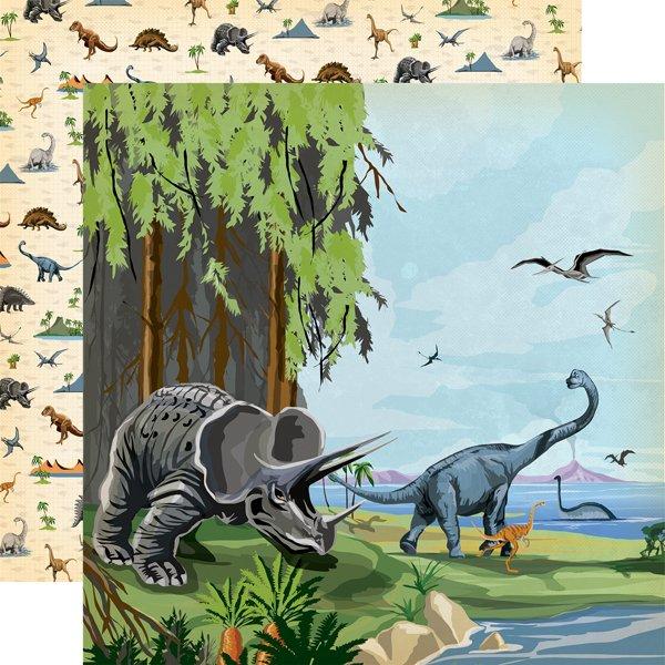 Carta Bella - Dinosaurs Prehistoric 12x12 Paper