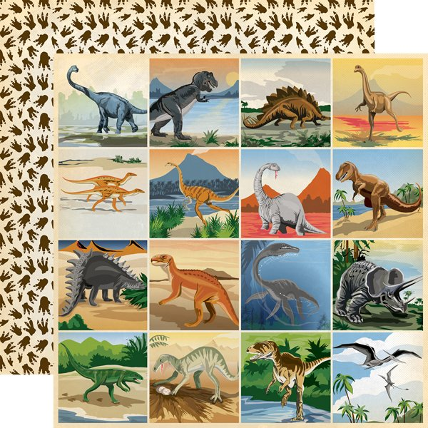 Carta Bella - Dinosaurs 3x3 Journaling Cards